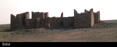 Information about Fort Bashir (Qasir Bashir): written about by Johann Ludwig Burckhardt around 1812 (6/6)