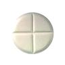 Clonazepam (Rivotril) دواء صليبا - لاحظ شكل الصليب وهو سبب التسمية العامية