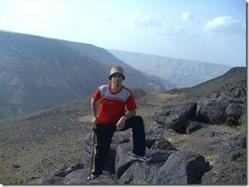Mujeb Dam is in the Backgroud, Karak, Jordan (Ancient Arnoon Valley)