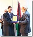 تكريم رئيس جامعة مؤتة الدكتور رضا الخوالدة